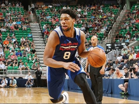 Jahlil Okafor Scores First NBA Basket!