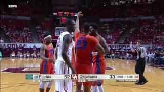 Florida vs Oklahoma Basketball Highlights 1-28-17