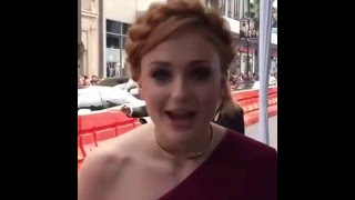 Game of Thrones Premiere Season 6 Hollywood- Sophie Turner -  SansaStark