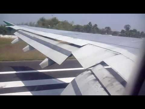 Bangladesh Biman Airline London Via Dubai to Sylhet (Landing)