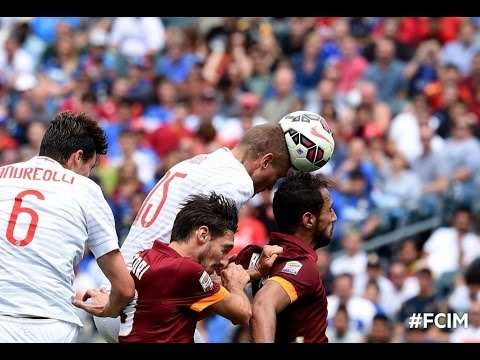 Inter Milan vs. AS Roma 2-0 - All Goals and Full Highlights (02/08/2014) ICC 2014