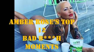 Amber Rose Top 12 Bad B**** Instagram Moments