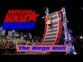 The 19' Mega Wall (Warped Wall)   American Ninja Warrior 2017 All Star Special