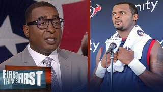 Cris Carter discusses if Deshaun Watson is underrated in the league | NFL | FIRST THINGS FIRST