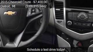 2015 Chevrolet Cruze LS Auto 4dr Sedan w/1SB for sale in Det