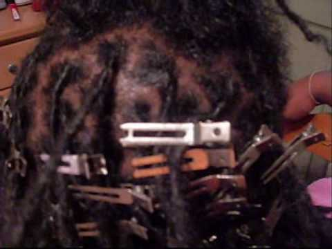 HOW TO RETWIST DREAD'Z (LOLZ)