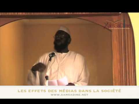 """Dr. Mouhammad Ahmad Lo - """" Les effets des médias dans la société """""""