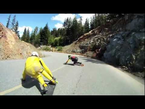NOS goes longboarding - Summer 2011 - Braden Tibbles