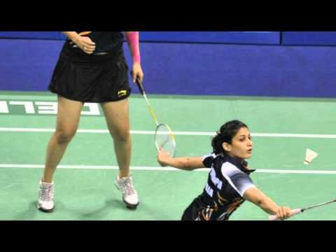 Jwala Gutta and Ashwini Ponappa win women's doubles