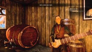 Dragon Age™: Inquisition Sera the Rouge song in Tavern