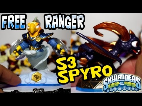 FreeRanger + S3 Mega Ram Spyro - New Swap Force  Characters