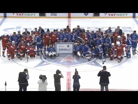 В Санкт-Петербурге (19.08.17) прошёл благотворительный хоккейный матч От Чистого Сердца...