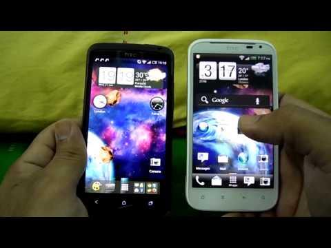 HTC ONE X VS HTC SENSATION XL HARDWARE, DESIGN, SCREEN & BATTERY COMPARISON