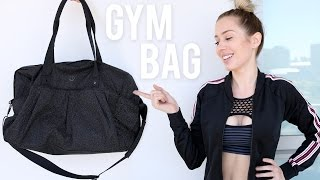 What's in my Gym Bag? | Karissa Pukas