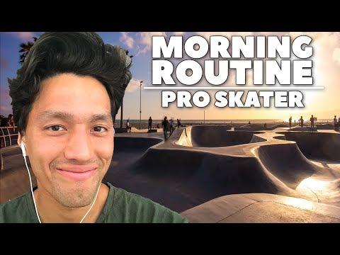 MY MORNING ROUTINE | Professional Skateboarder in LA