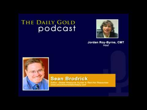 Sean Brodrick on Global Economy, Gold & Gold Miners