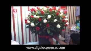 arreglos florales paso a paso 100 rosas
