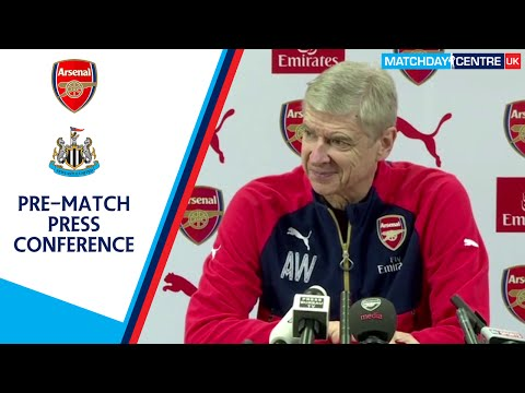 Arsenal vs Newcastle United : Arsene Wenger Press Conference