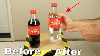How to Take the Color Out of Coke—The Colorless Coke Experiment