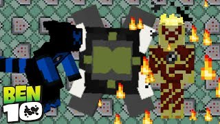 Heatblast & XLR8 In Only One Command! Minecraft 1.12 Omnitrix v2