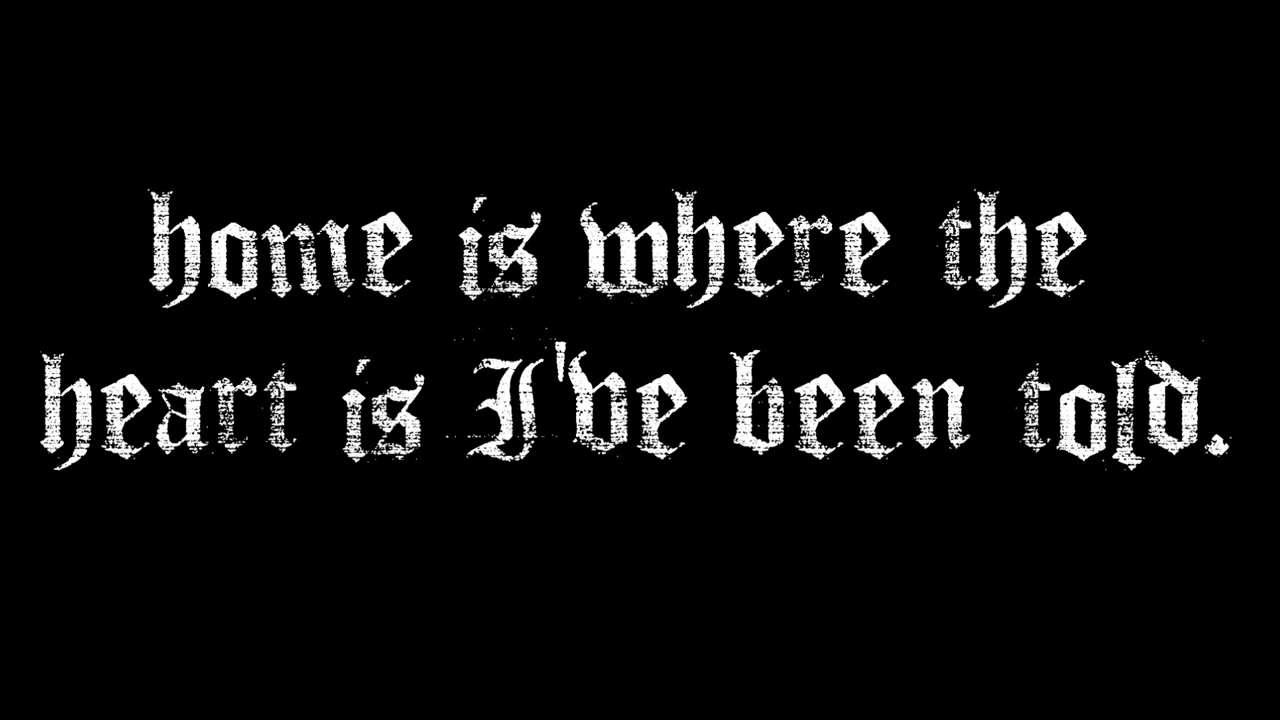 Avenged sevenfold coming home lyrics hd youtube
