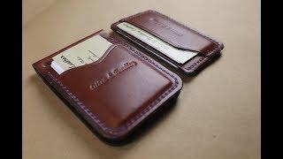 Money Clip Combo Chestnut Bridle Leather