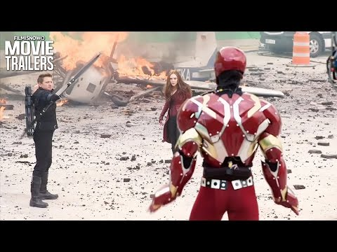 Captain America: Civil War   DVDBlu-Ray Release Bonus Features Compilation