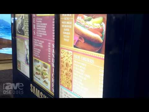 DSE 2015: Samsung Talks About Outdoor 3×1 Menu Board with 1080p Resolution
