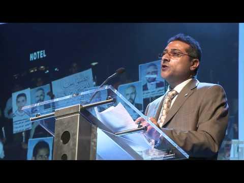 Abdulkarim al-Khaiwani - Oslo Freedom Forum 2010
