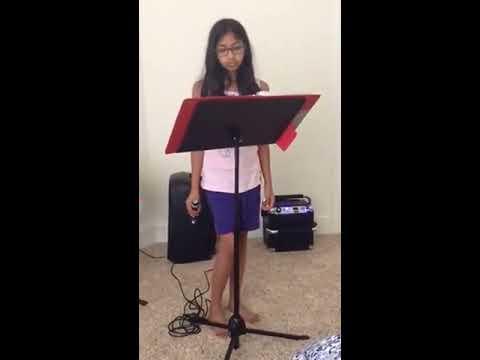 Aishu singing manasa malli malli choosa