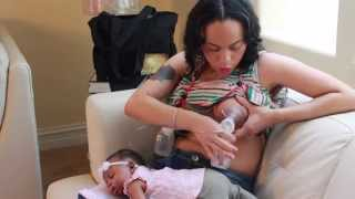 How To Pump Breast Milk {Medela Dual Pump} : New Mothers 101