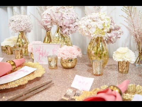 Rose Gold Soft Pink Wedding Styled By Enchanted Empire Event Artisans