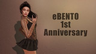 eBENTO 1st Anniversary in Second Life