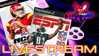 Mega Live Stream NFL 2k5 & NCAA FOOTBALL 04