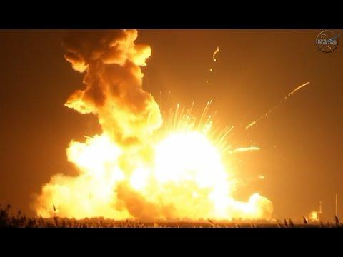 NASA Rocket Explodes on Launch - Foguete da Nasa Explode Segundos Após Lançamento