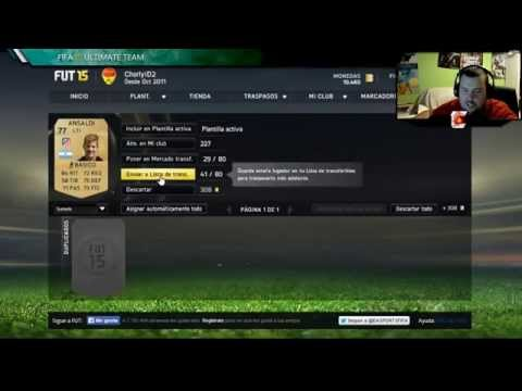 Fifa 15 UT | Diego Costa IF !!! | Pack Opening en Directo 5000 fifa points