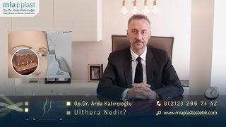 Ultherapy / Ameliyatsız Yüz & Boyun Germe - Op. Dr. Arda Katırcıoğlu
