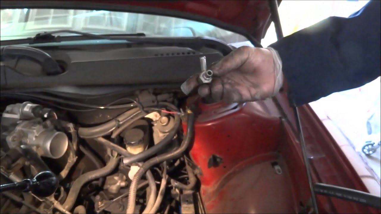 Transmission Fluid Leak >> Ford Transmission breather vent valve replacement. - YouTube