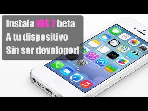 Instala la beta de iOS 7 Fácil y sin ser Developer/Desarrollador