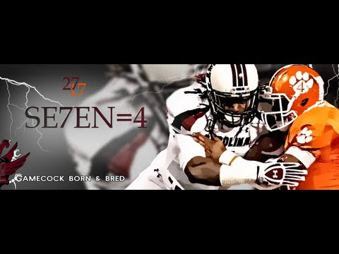 South Carolina Gamecocks vs Clemson Tigers 4 (HD)