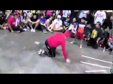 filipino kid BEAT american adult in break dancing