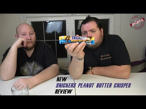 NEW Snickers Peanut Butter Crispers Review