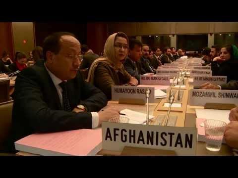 Afghanistan final membership talks