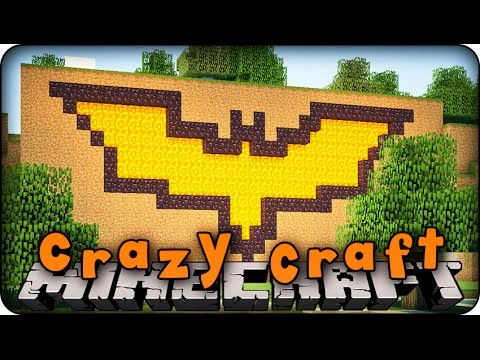 Minecraft Mods - CRAZY CRAFT 2.0 - Ep # 88 'HIDDEN BAT CAVE!' (Superhero Mod)