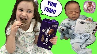 NEW REBORN BABY JOEY & ALIYAH OPENING SPECIAL MAIL! HAPPY MAIL MONDAY!