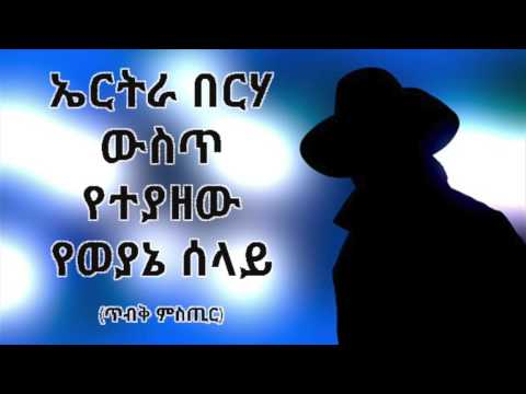 TOP Secret Revealed: A TPLF Secret Agent Arrested In Eritrea
