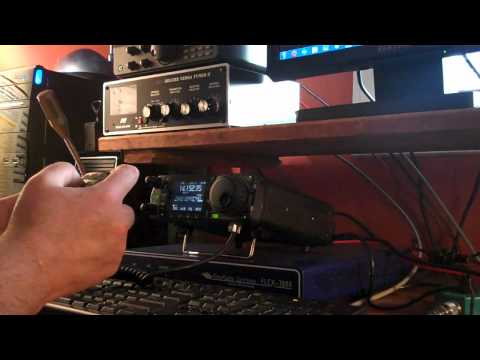 Icom IC-7000 First time powered on