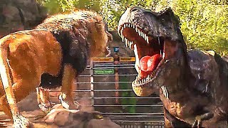 """T-Rex VS Lion"" JURASSIC WORLD 2 Bande Annonce (NOUVELLE, 2018)"