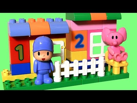 Pocoyo Blocks Build a House with Elly the Elephant Block Labo Construction Bloques NEW