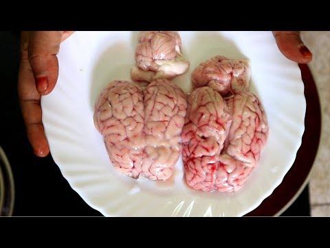 ஆடு மூளை வறுவல் செய்வது எப்படி | How To Make Goat Brain Fry | Sherin's Kitchen Recipes